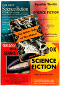 Books:Science Fiction & Fantasy, [Genre Literature]. [Ray Bradbury, Isaac Asimov, Murray Leinster, et al]. Group of Five Science Fiction Anthologies. Various... (Total: 5 Items)
