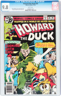 Bronze Age (1970-1979):Cartoon Character, Howard the Duck #28 (Marvel, 1978) CGC NM/MT 9.8 White pages....