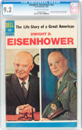 Silver Age (1956-1969):Miscellaneous, Dwight D. Eisenhower #nn (Dell, 1969) CGC NM- 9.2 Off-white towhite pages....