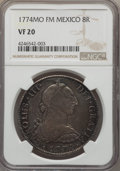 Mexico, Mexico: Charles III 8 Reales 1774 Mo-FM VF20 NGC,...