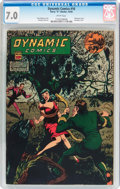 Golden Age (1938-1955):Superhero, Dynamic Comics #16 (Chesler, 1945) CGC FN/VF 7.0 White pages....