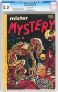 Golden Age (1938-1955):Horror, Mister Mystery #2 (Aragon, 1951) CGC VF 8.0 Off-white pages....