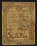 Colonial Notes:Pennsylvania, Pennsylvania October 1, 1773 20s Fine-Very Fine.. ...