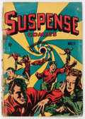 Golden Age (1938-1955):Horror, Suspense Comics #9 (Continental Magazines, 1945) Condition: FR....