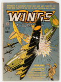 Golden Age (1938-1955):War, Wings Comics #20 (Fiction House, 1942) Condition: Qualified VG-....
