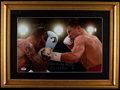 Boxing Collectibles:Autographs, Gennady Golovkin Signed Oversized Photograph....