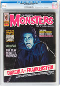 Magazines:Horror, Famous Monsters of Filmland #89 (Warren, 1972) CGC NM+ 9.6 Off-white to white pages....