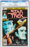Modern Age (1980-Present):Science Fiction, Star Trek #1 (Marvel, 1980) CGC NM/MT 9.8 White pages....