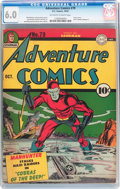 Golden Age (1938-1955):Superhero, Adventure Comics #79 (DC, 1942) CGC FN 6.0 Off-white to white pages....