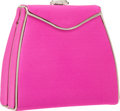 "Luxury Accessories:Bags, Judith Leiber Pink Satin Evening Bag. Very Good Condition.5.25"" Width x 5"" Height x 2"" Depth. ..."
