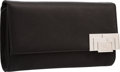 "Luxury Accessories:Bags, Judith Leiber Black Silk Evening Bag. Very Good to ExcellentCondition. 9"" Width x 5.5"" Height x 2"" Depth. ..."