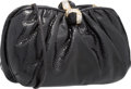 "Luxury Accessories:Bags, Judith Leiber Black Lizard Evening Bag. Excellent Condition.9"" Width x 5.5"" Height x 3"" Depth. ..."