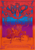 Music Memorabilia:Posters, The Who Hollywood Palladium Concert Poster, Art by Rick Griffin(Magic Circus, 1969)....