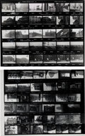 Music Memorabilia:Photos, Beatles - Two Contact Sheets for Locations Used in the Film,Yellow Submarine (1968).... (Total: 2 )