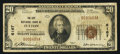 National Bank Notes:Kentucky, Fulton, KY - $20 1929 Ty. 1 The City NB Ch. # 6167. ...