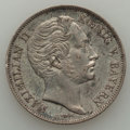 German States:Bavaria, German States: Bavaria. Maximilian II Pair of silver Coins,...(Total: 2 coins)