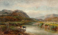Fine Art - Painting, European:Antique  (Pre 1900), British School (19th Century). The Mawddach. Oil on canvas.18-1/4 x 30 inches (46.4 x 76.2 cm). Inscribed verso: The...