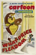 "Movie Posters:Animated, What Price Fleadom (MGM, 1948). One Sheet (27"" X 41"").Director TexAvery brought his wacky and manic sense of comedy to all ..."