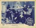 """Movie Posters:Serial, The Batman (Columbia, 1943). Lobby Card (11"""" X 14""""). The firston-screen appearance of Batman and Robin is in this WWII era ..."""