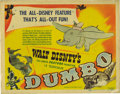 "Movie Posters:Animated, Dumbo (RKO, 1941). Title Lobby Card (11"" X 14""). Disney's belovedbaby elephant was one of Walt Disney's favorite animated c..."