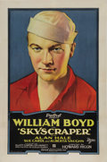 "Movie Posters:Drama, Skyscraper (Pathe, 1928). One Sheet (27"" X 41""). This film starsWilliam Boyd, Alan Hale and Sue Carol. Boyd and Hale are be..."
