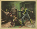 "Movie Posters:Swashbuckler, The Mark of Zorro (United Artists, 1920). Lobby Cards (2) (11"" X 14""). Johnston MacCulley's 1913 book ""The Curse of Capistra... (Total: 2 Items)"