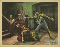 "The Mark of Zorro (United Artists, 1920). Lobby Cards (2) (11"" X 14""). Johnston MacCulley's 1913 book ""Th..."