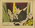 "Movie Posters:Drama, Temptress, The (MGM, 1926). Lobby Card (11"" X 14""). Antonio Moreno co-stars with Greta Garbo and is here shown about to stra..."