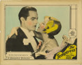 "Movie Posters:Drama, Temptress, The (MGM, 1926). Lobby Card (11"" X 14""). Antonio Morenoco-stars with Greta Garbo and is here shown in a romantic..."
