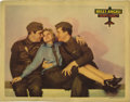 "Movie Posters:War, Hell's Angels (United Artists, 1930). Lobby Card (11"" X 14""). Thisbeautiful lobby card has three small edge tears, one whic..."