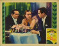 "Movie Posters:Romance, Sadie McKee (MGM, 1934). Lobby Cards (3) (11"" X 14""). The threelobby cards in this group have minor wear on corners, wear o...(Total: 3 Items)"