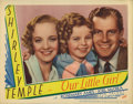 "Movie Posters:Drama, Our Little Girl (Fox, 1935). Lobby Card (11"" X 14""). In ""Our LittleGirl,"" Shirley Temple tackles the very adult issue of ho..."