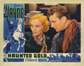 "Movie Posters:Western, Haunted Gold (Warner Brothers - First National, 1932). Lobby Card(11"" X 14""). This beautiful card featuring Sheila Terry an..."