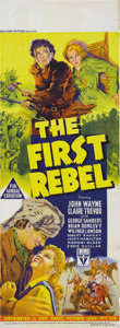 """Movie Posters:Adventure, The First Rebel (RKO, 1939). Australian Daybill (14.5"""" X 40"""").Released in this country as """"Allegheny Uprising"""", this is the..."""