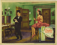 "Modern Times (United Artists, 1936). Lobby Card (11"" X 14""). Even though some sound and dialog is used, this C..."