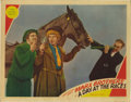 "Movie Posters:Comedy, A Day At The Races (MGM, 1937). Lobby Card (11"" X 14""). There aresome smudges, edge soiling, rounded corners, a pinhole in ..."