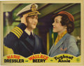 """Movie Posters:Comedy, Tugboat Annie (MGM, 1933). Lobby Cards (4) (11"""" X 14""""). This lotconsists of four cards from this comedic melodrama from dir...(Total: 4 Items)"""