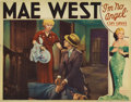"Movie Posters:Comedy, I'm No Angel (Paramount, 1933). Lobby Card (11"" X 14""). Mae West'sscreenplay became her second starring vehicle, and remain..."