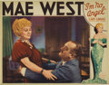 "Movie Posters:Comedy, I'm No Angel (Paramount, 1933). Lobby Card (11"" X 14""). Mae Westwas the original bad-girl of the Broadway stage. She was si..."