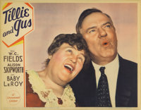 """Tillie and Gus (Paramount, 1933). Lobby Card (11"""" X 14""""). If but for the one pinhole and one staple hole, this..."""