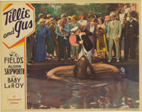 """Tillie and Gus (Paramount, 1933). Lobby Cards (2) (11"""" X 14""""). W.C. Fields' first starring effort proved to be..."""