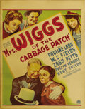 "Movie Posters:Comedy, Mrs. Wiggs of the Cabbage Patch (Paramount, 1934). Window Card (14"" X 22""). The great W.C. Fields and Pauline Lord star in t..."