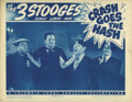 "Movie Posters:Comedy, Crash Goes the Hash (Columbia, 1944). Lobby Card (11"" X 14"").Vernon Dent, editor of the Daily News, has a problem -- none o..."