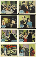 "Movie Posters:Comedy, There Goes the Bride (Gaumont British, 1932). Lobby Card Set of 8(11"" X 14""). Jessie Matthews is just as the title card adv...(Total: 8 Items)"