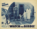 "Movie Posters:Comedy, Watch the Birdie (Warner Brothers, 1935). Lobby Card (11"" X 14""). Billed as a Vitaphone Big V Comedy, ""Watch the Birdie"" sta..."