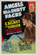 "Movie Posters:Drama, Angels With Dirty Faces (Warner Brothers, 1938). One Sheet (27"" X41""). James Cagney, Pat O'Brien, Humphrey Bogart, Ann Sher..."