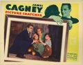 "Movie Posters:Crime, Picture Snatcher (Warner Brothers, 1933). Lobby Card (11"" X 14"").James Cagney is an ex-con who has a hard time convincing h..."