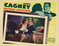 "Movie Posters:Crime, Picture Snatcher (Warner Brothers, 1933). Lobby Card (11"" X 14"").This is a really beautiful card featuring James Cagney and..."