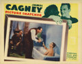 "Movie Posters:Crime, Picture Snatcher (Warner Brothers, 1933). Lobby Card (11"" X 14"").This card has had some professional restoration in the mar..."