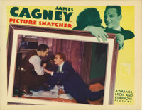 """Picture Snatcher (Warner Brothers, 1933). Lobby Card (11"""" X 14""""). James Cagney stars as an ex-con who decides..."""